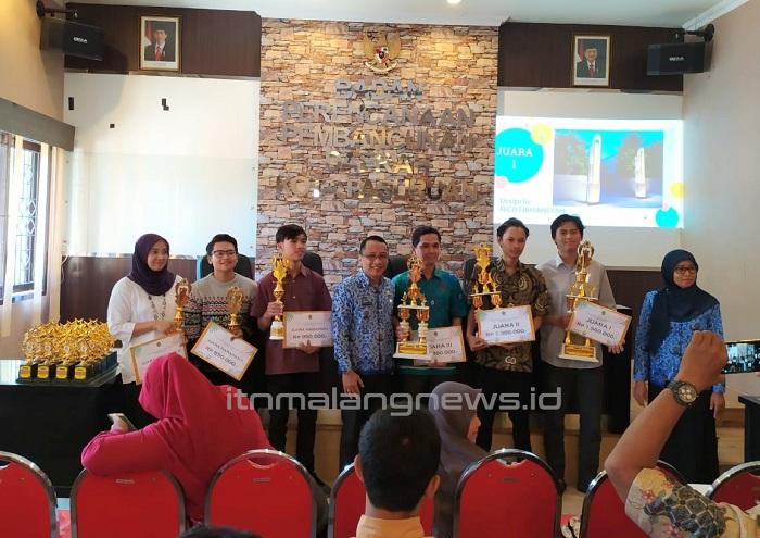 Nico Firmansyah Mahasiswa ITN Malang, Putra Daerah Pemenang Lomba Desain Gapura Kota Pasuruan