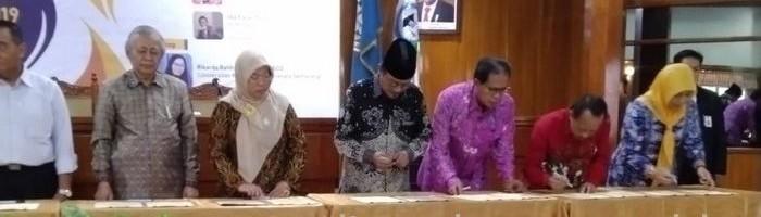 Rektor ITN Malang Tanda Tangani MoU dengan Perpustakaan Nasional