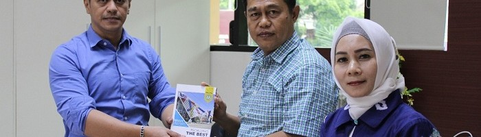 Awali Rencana Expo Pendidikan 2020, IKAM Kalimantan Selatan Bersilaturahmi ke Kampus Biru