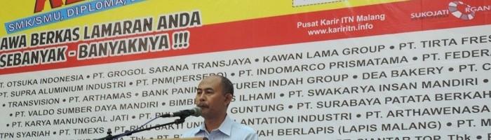 Wakil Dekan III FTI Jangan Takut Kuliah di ITN Malang