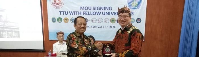 ITN Malang dan Tatung University Teken MoU Program Beasiswa dan Pertukaran Staff Exchange