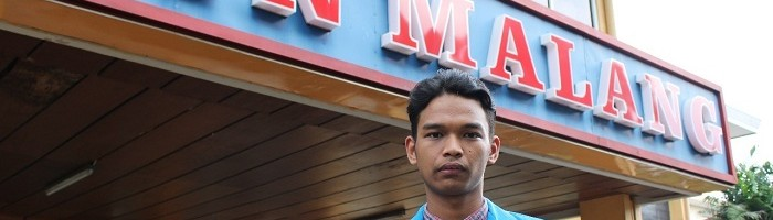 Wisudawan itn malang Syaiful Ingin Bantu Home Industry Melalui Tugas Akhir