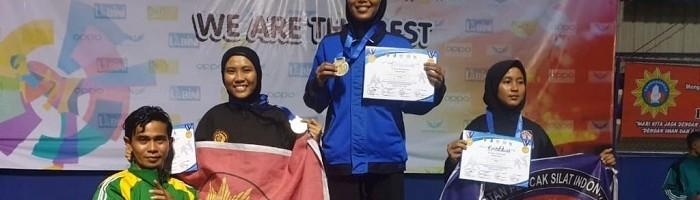 Atlet Tapak Suci ITN Malang Menjadi Juara 2 Kejurwil Madura Pencak Silat 2020