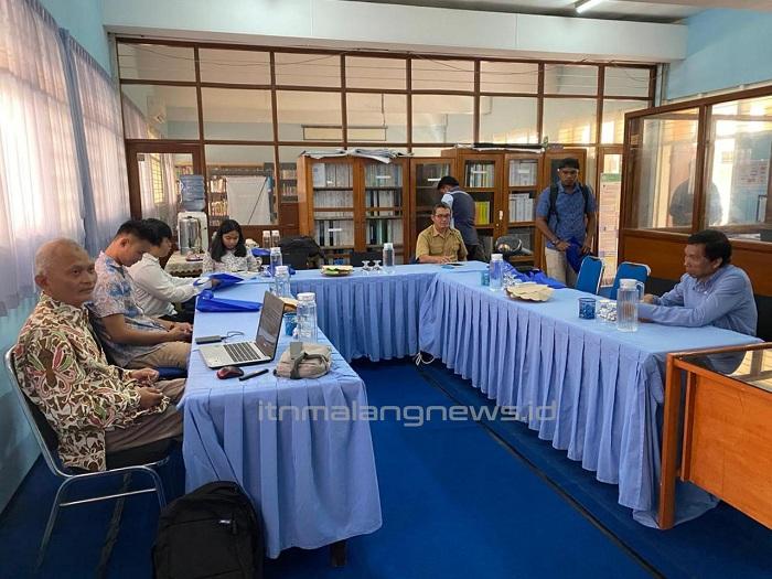 Dinas PUPR Mahakamulu Belajar ke PWK ITN Malang