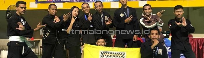 Empat Atlet UKM PSHT ITN Malang Sabet Empat Medali Kota Batu Cup