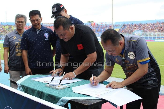 Kolaborasi ITN Malang dan Arema FC Hidupkan Karakter Sportif