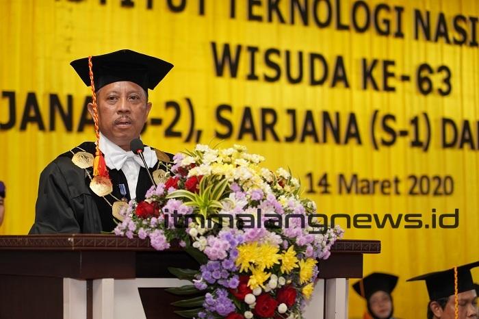 Rektor ITN Malang Anda Sudah Siap Berperan di Tingkat Dunia