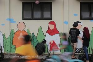 Jalan-jalan ke Kampung Jahe Merah Sambil Cuci Mata Lihat Mural