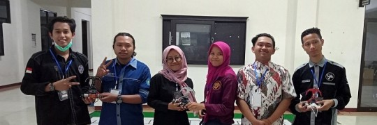Tim Robot ITN Malang dalam Kontes Jember Line Tracer X 2020 (JLT X)