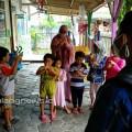 Duta Mahasiswa Perubahan Perilaku Satgas Penanganan Covid-19 ITN Malang bersama KSR PMI Unit ITN Malang Kampanye 3M di sekolah