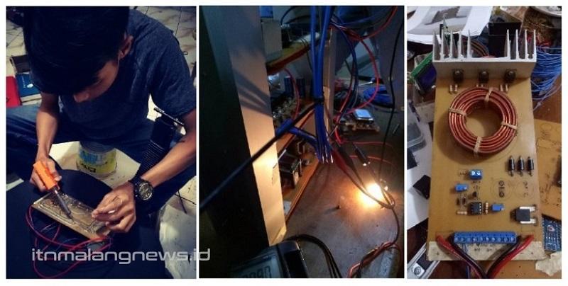 Maintenance dan finishing alat fast charging pada sistem pengisian baterai berfrekuensi tinggi