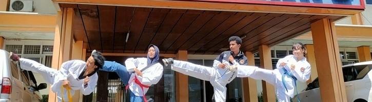 Tim UKM Taekwondo ITN Malang