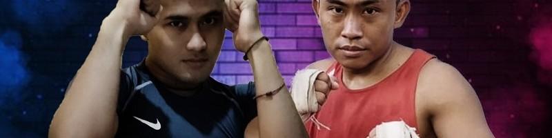 Wahyu Tedy Pratama dari Lion Killer ITN Malang meraih juara Mixed Martial Arts (MMA) 2021 di Probolinggo (2)