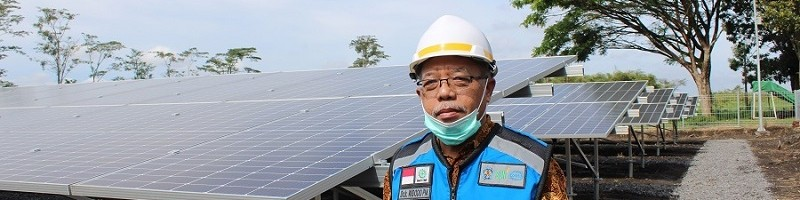 Dr Ir Widodo Pudji Muljanto MT, Ketua Pengawas PLTS 500 KWp0,5 MWp ITN Malang
