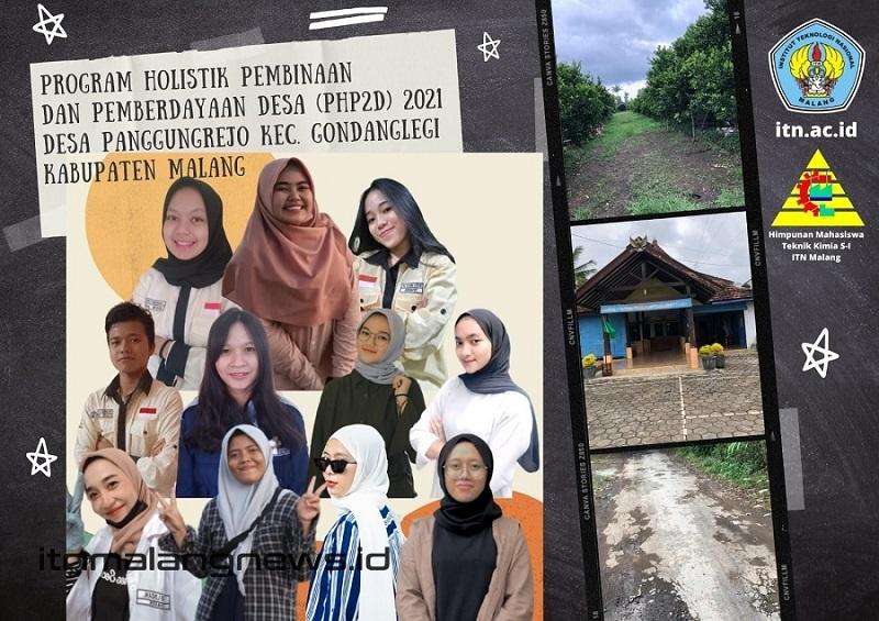 itn news Tim PHP2D Himpunan Mahasiswa Teknik Kimia ITN Malang dalam Program Holistik Pembinaan dan Pemberdayaan Desa (PHP2D) 2021