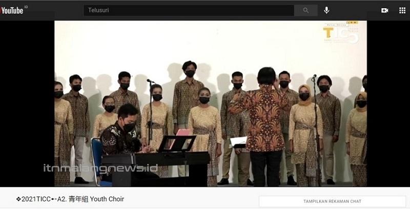 PSM VOX Coeleistis Choir (VCC) ITN Malang meraih kemenangan di Taipei International Choral Competition 2021 (TICC), Taipei, Taiwan