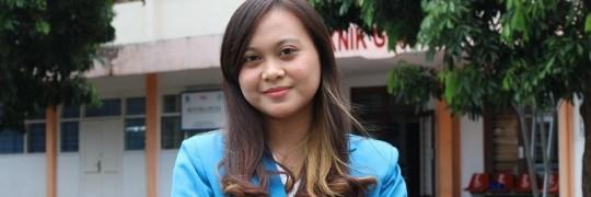 Gusti Ayu Putu Tasia Kirana lulusan terbaik Teknik Geodesi S-1, ITN Malang pada wisuda ke-66 periode II tahun 2021