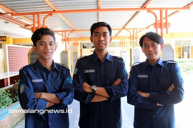 Kompak Tim Spectra Hexia Teknik Sipil S-1 ITN Malang. Ki-ka Kenny Petranto Riwu Djo Naga, Kadek Wahyu Adi Pratama, Firnas Naufal (1)